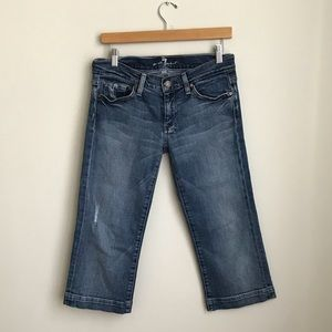 7 FAM Cropped Jeans